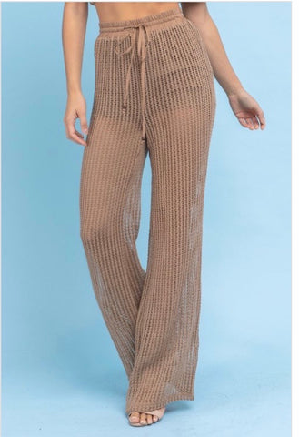 Crochet Bell Bottom Pants
