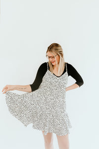 Lucy Mini Speckled Dress