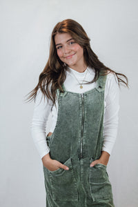 Ella Corduroy Overall Dress