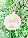 Christmas decoration - personalised