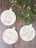 Christmas decorations - set of 3