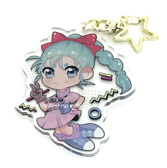 Bulma Charm! - Dragon Ball