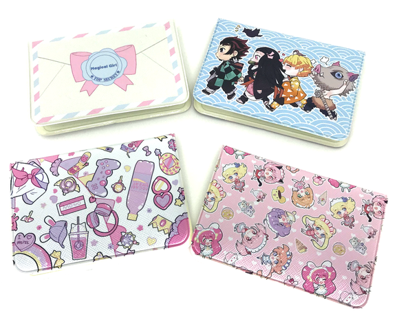 Card Wallets! | Demon slayer | Magical girl | Cute