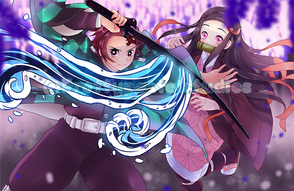 Kimetsu No Yabai Large print! | Demon Slayer