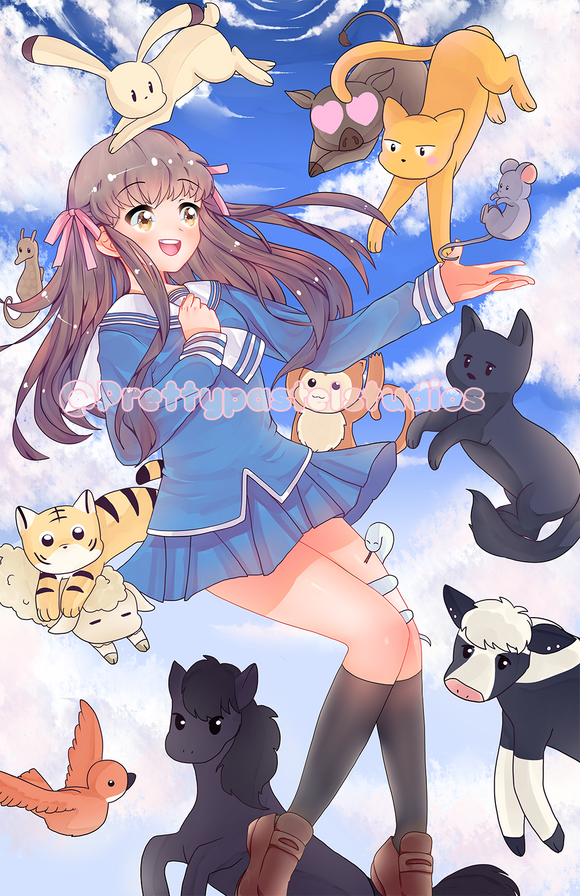 Fruits Basket Large print!