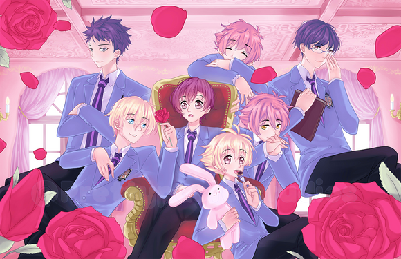 Ouran Host Club Print! Large Print