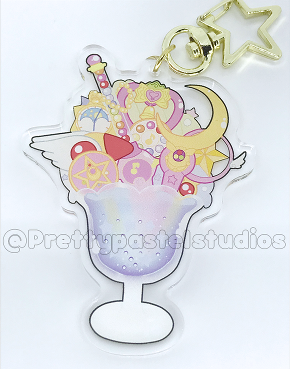 Magical Item Parfait Charm! | Glitter epoxy