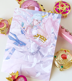 Helios and Chibi-Usa print! w/Gold Foil | Sailor Moon