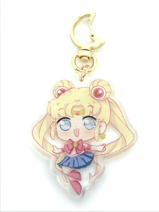 Sailor Moon Charm! Glitter epoxy! | usagi tsukino