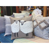 "Sheep Duo 16"" Square Pillow"