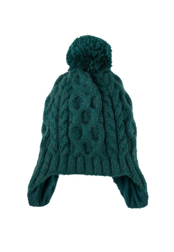 Cable Knit Pom Hats | Andes Gifts