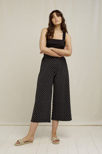 Chandre Ikat Print Trousers | People Tree