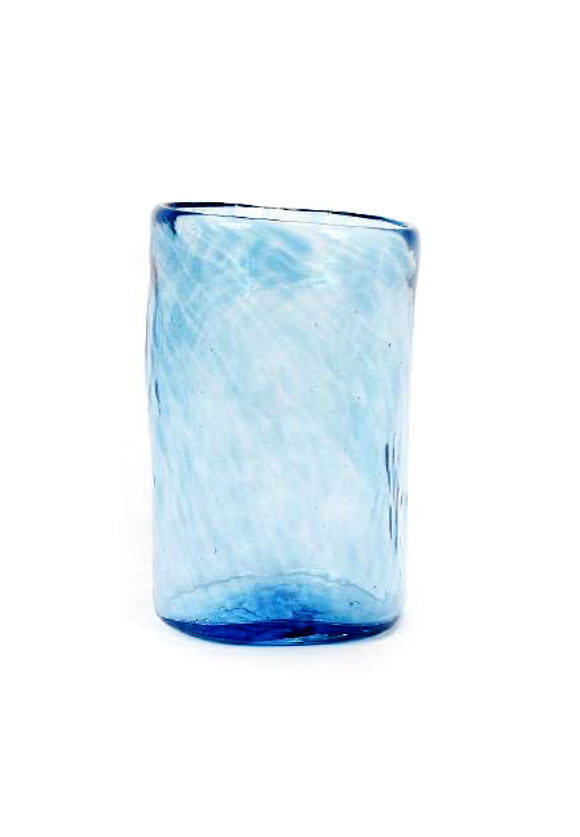 Large 13 oz Handblown Oaxacan Glass | Xaquixe