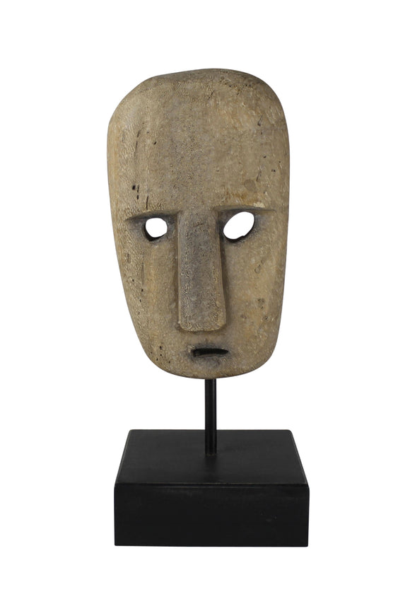 Kelso Wood Mask On Stand