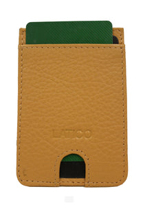 Adhesive Credit Card Holders | Latico Leathers