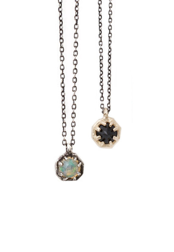 Small Octagon Necklace | Lauren Wolf