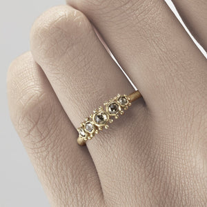 Champagne Diamond Ring | Ruth Tomlinson