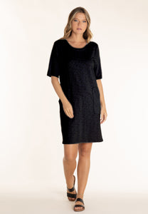 Half Sleeve Shift Dress | Mododoc