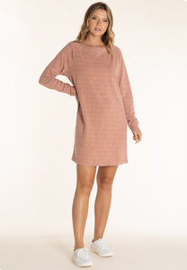 Long Sleeve Off Shoulder Dress | Mododoc