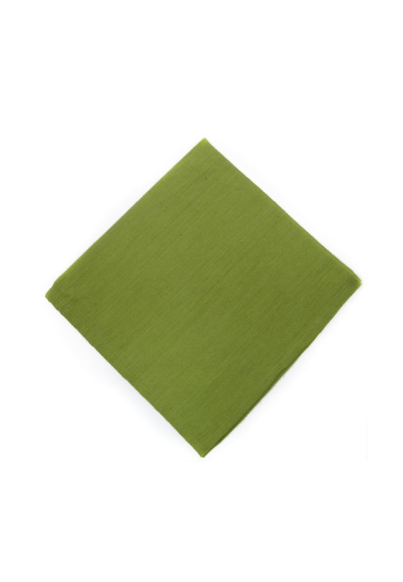 Homespun Solid Napkins | Green