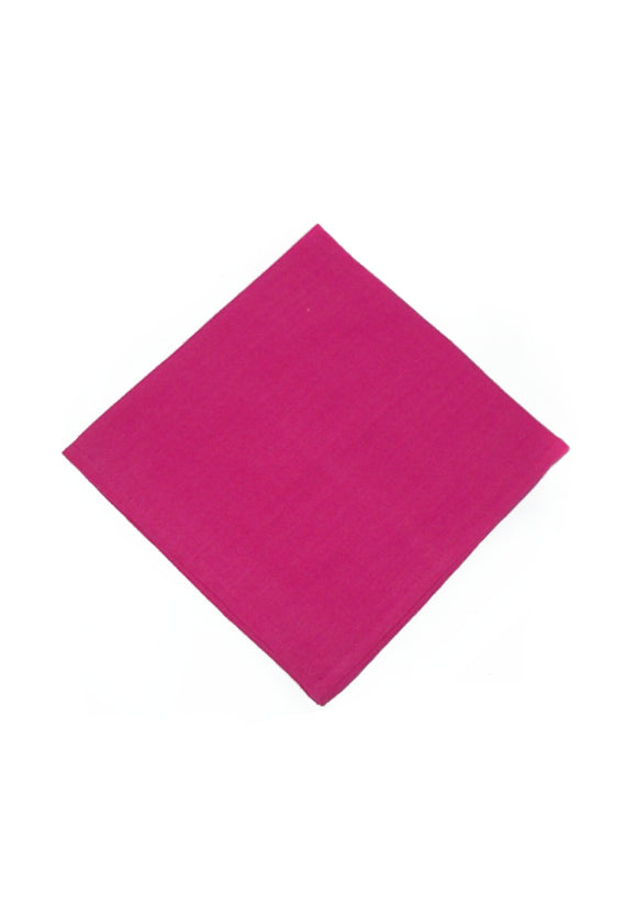 Homespun Solid Napkins | Fuscia