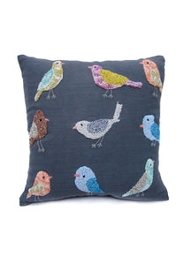 "Knotty Birds 16"" Square Pillow"