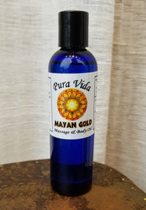 Mayan Gold Massage Oil | Pura Vida