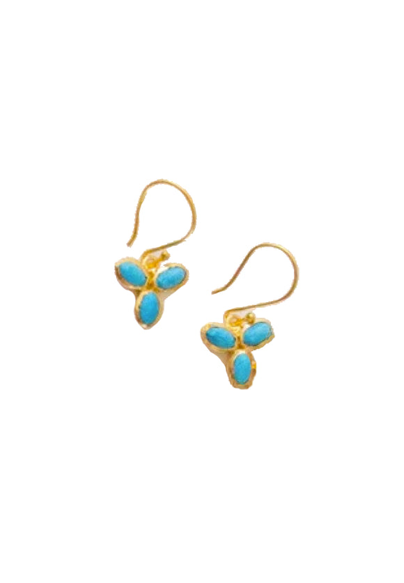 Turquoise Trio Earrings | River Song