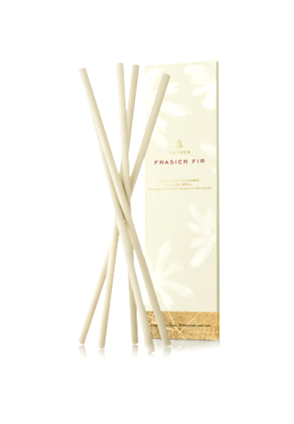 Thymes Frasier Fir Gilded Liquid Free Fragrance Diffuser Sticks
