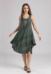 Tie-Dyed Stitch Dress | Windhorse Trading