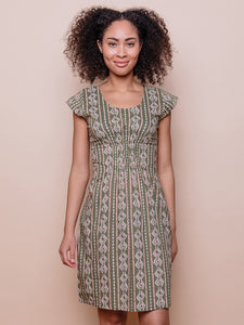 Artsy Traveler Dress in Quilt | Mata Traders