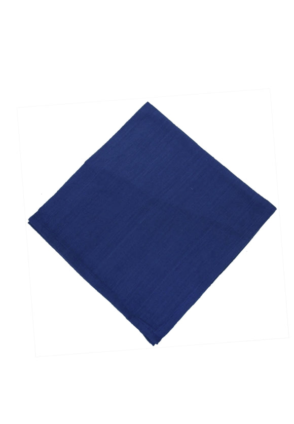 Homespun Solid Napkins | Navy