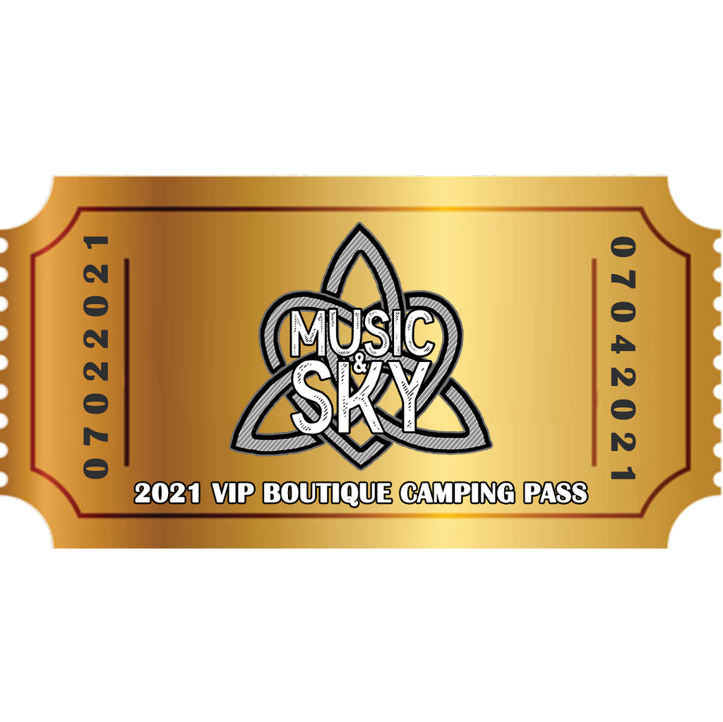 Music & Sky 2021 VIP Boutique Experience Pass