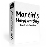 Martin's Handwriting Font Collection