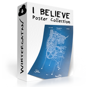 I Believe Posters All Colours And Formats