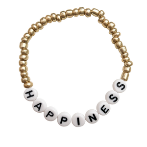 Happiness - Stretch Bracelet