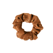 Load image into Gallery viewer, Americano Shimmer Scrunchie
