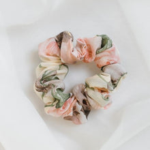 Load image into Gallery viewer, Pastel Floral Scrunchie