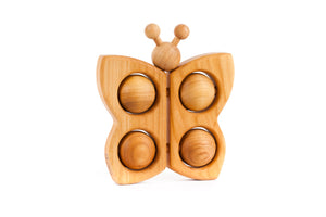 Bajo Butterfly Teether, Natural