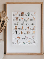 Load image into Gallery viewer, Jo Collier Designs - Nature's ABC Print