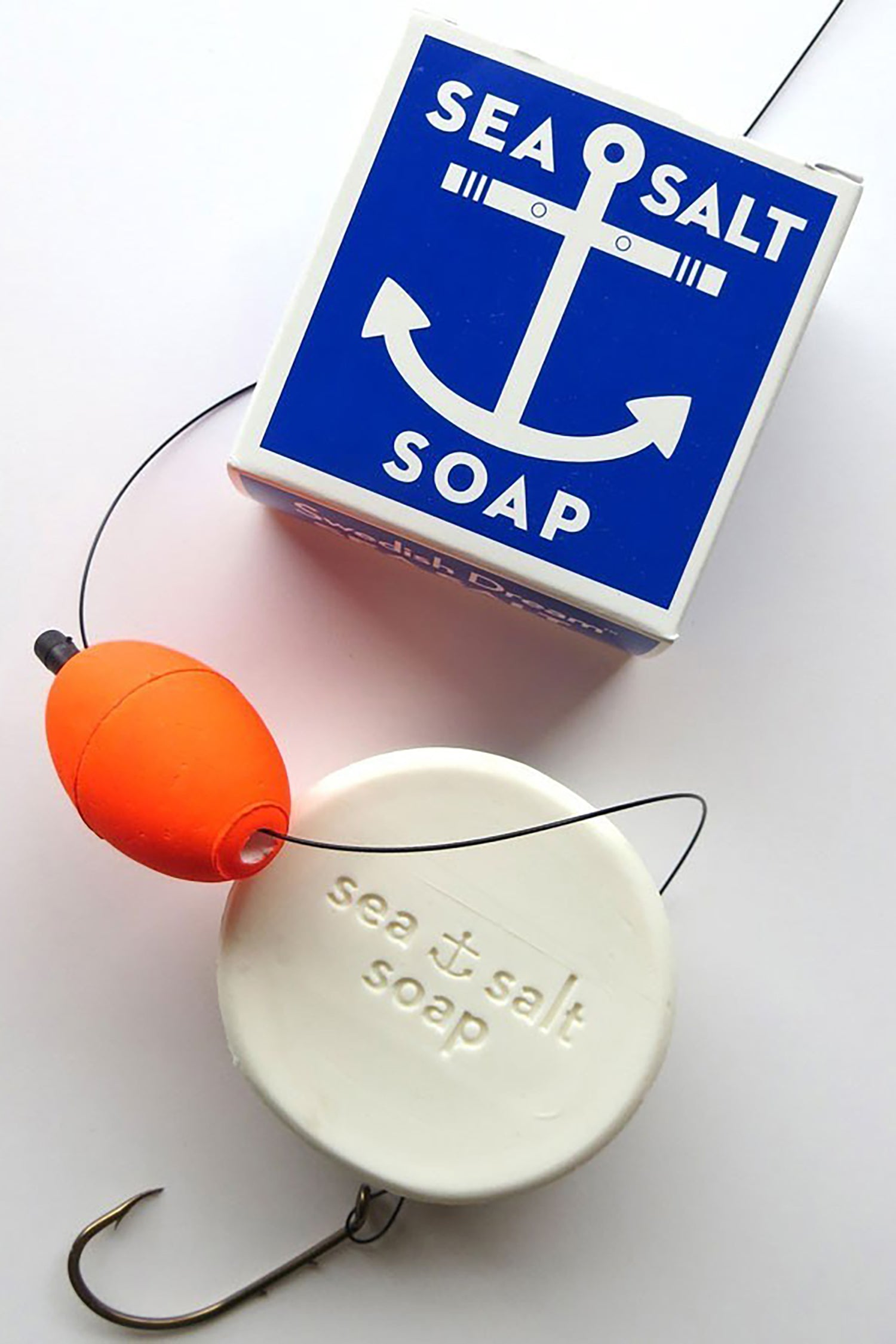 Sea Salt Soap - 122g Round