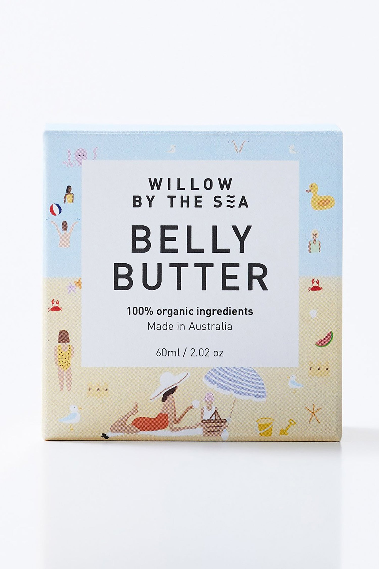 Willow By The Sea Belly Butter - Large