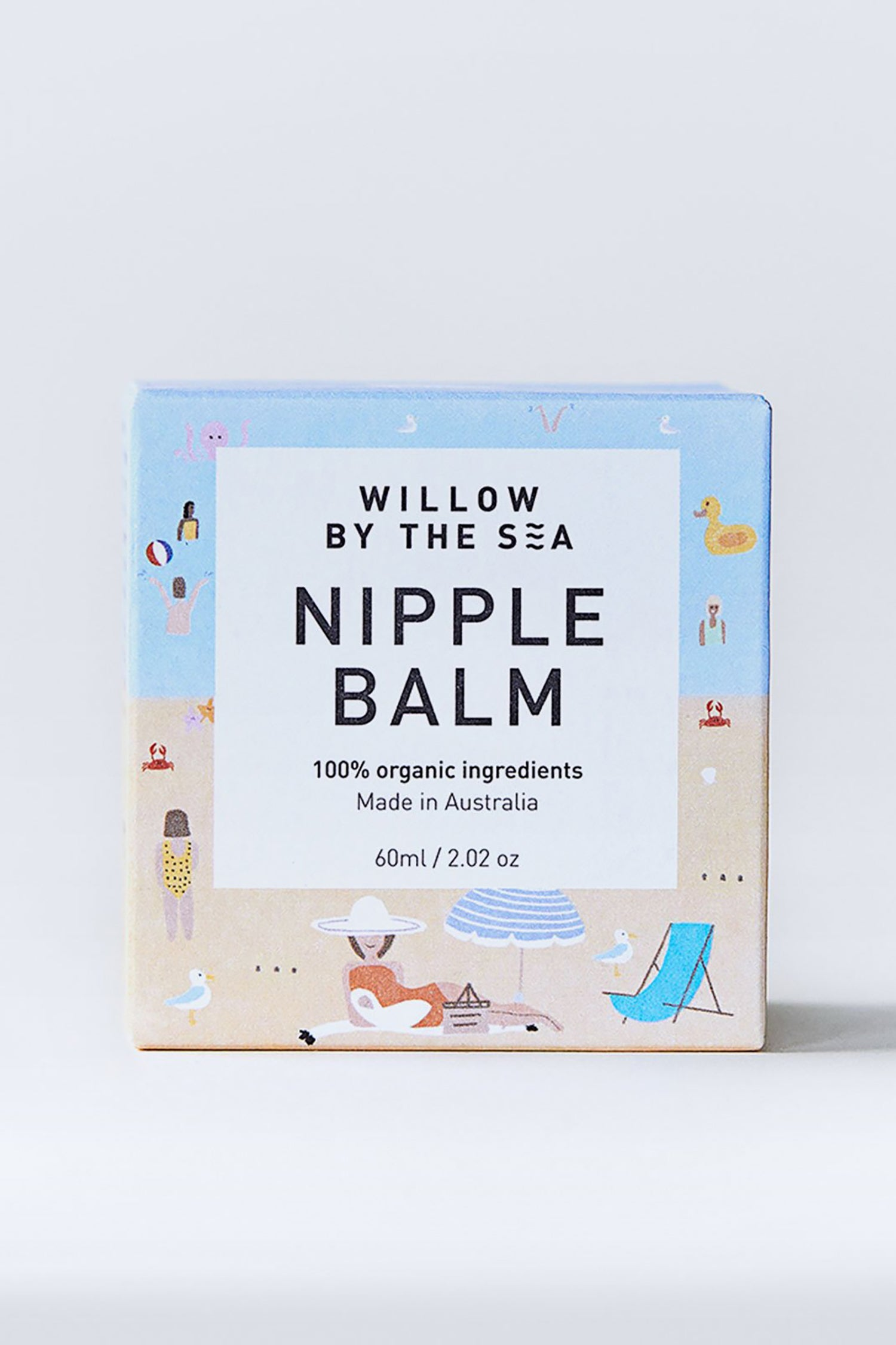 Willow By The Sea Nipple Balm