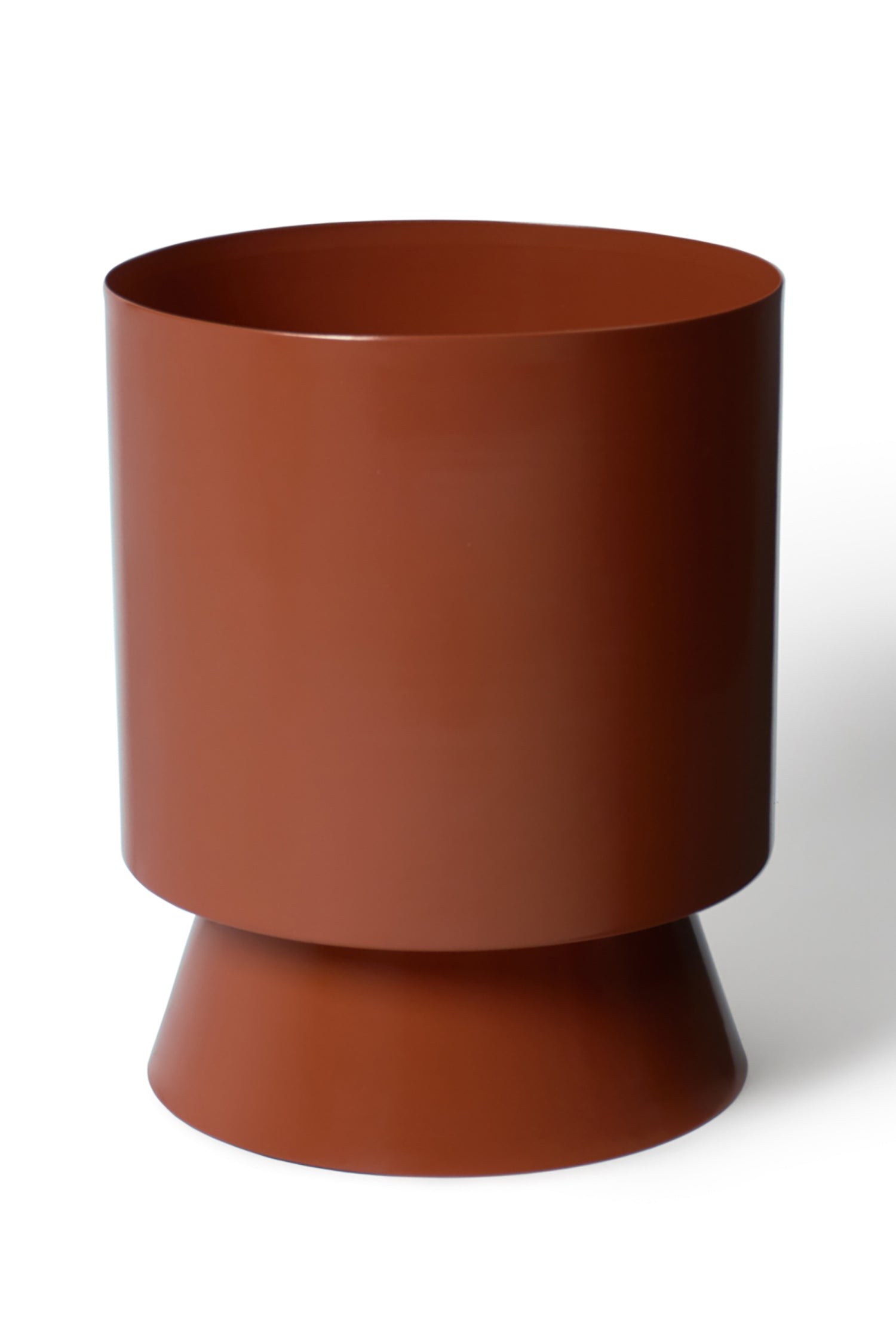 Palm Springs Planter Large - Burnt Sienna