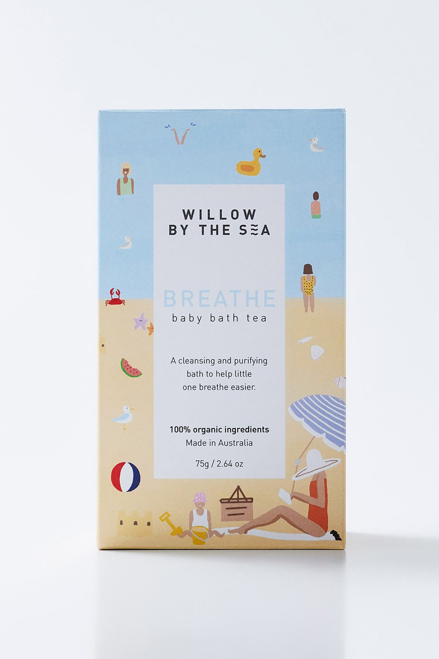 Willow By The Sea Baby Bath Tea