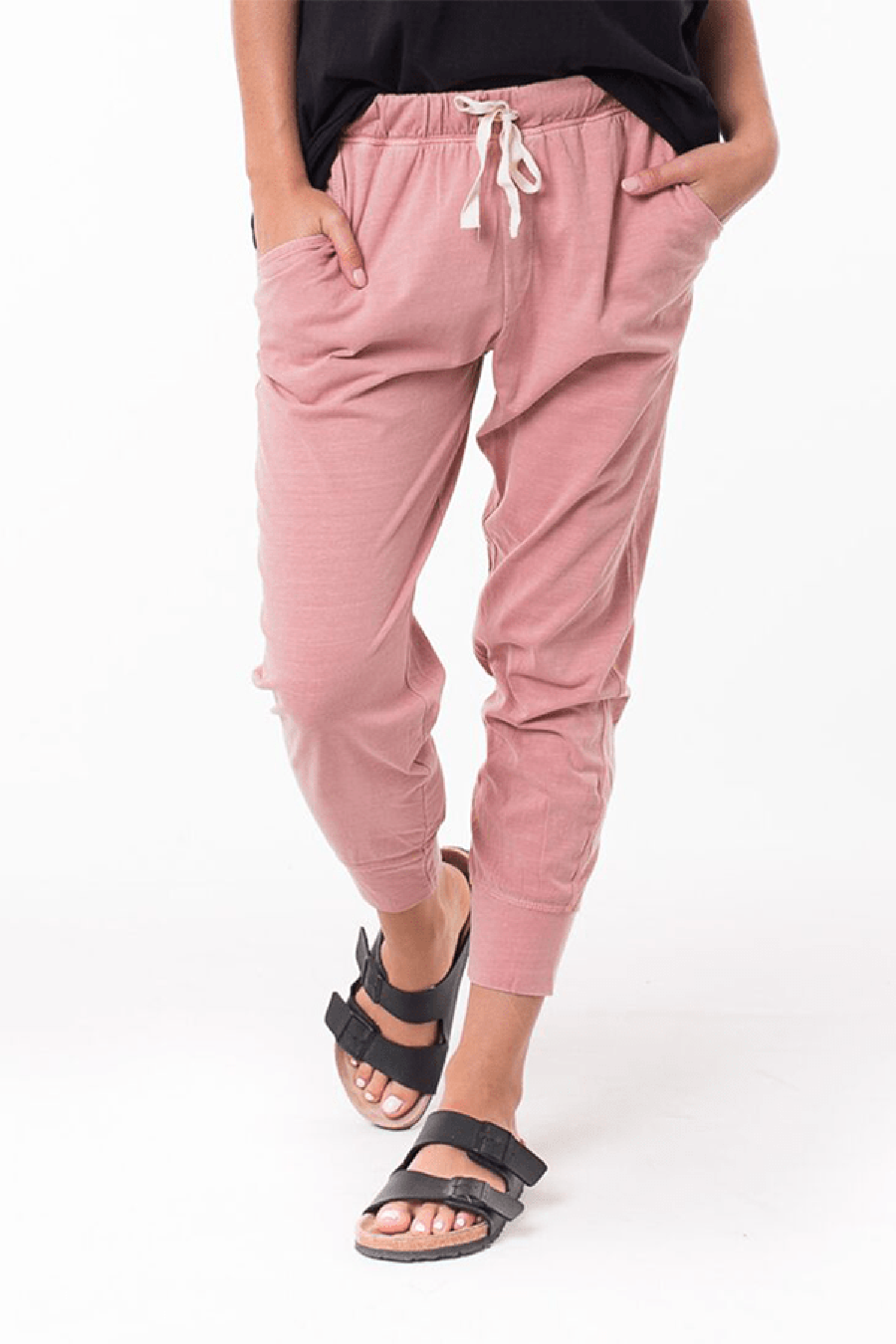 Wash Out Pant - Washed Pink