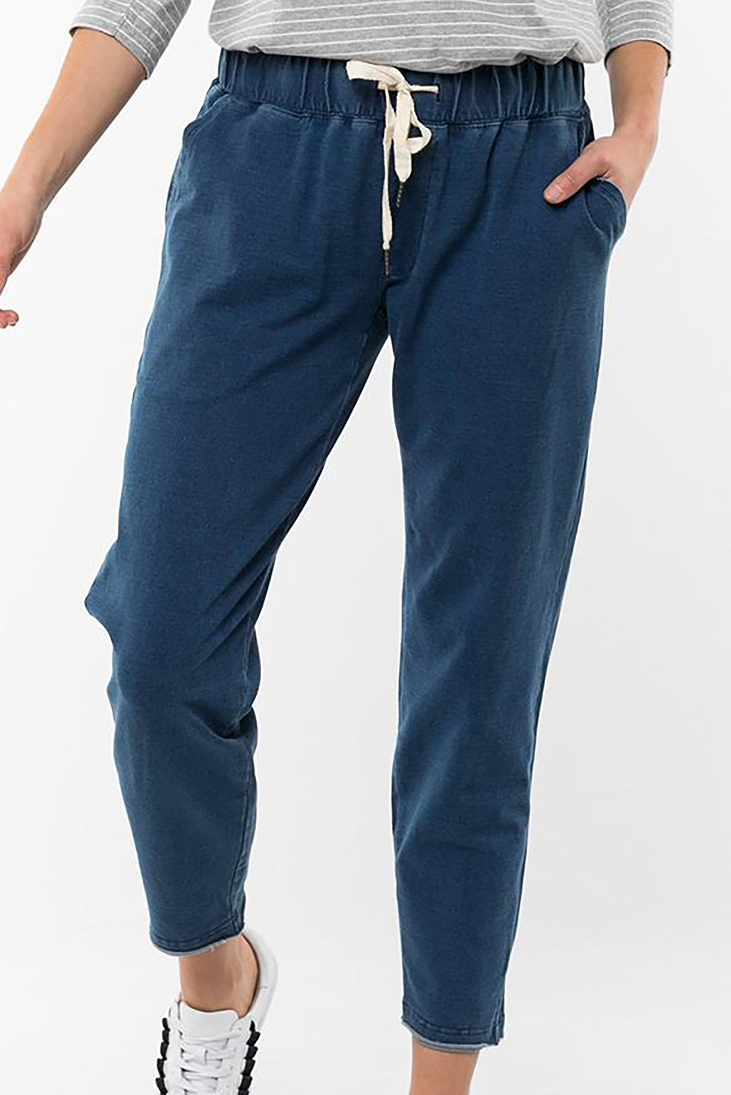 Rickety Pant Denim Blue