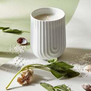 Arc Candle, Sea Salt & Sage