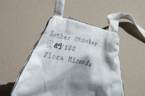 Limited Edition Esther Stocker x Flora Miranda Facemask