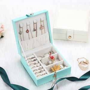 Jewelry Box Packaging PU Leather